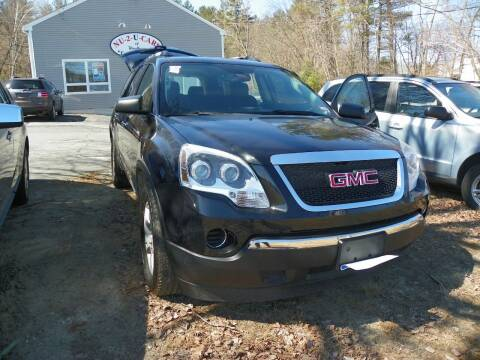 2010 GMC Acadia for sale at Nu2u Cars in Windham NH