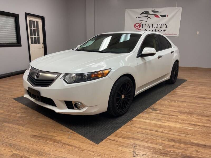 2012 Acura TSX for sale at Quality Autos in Marietta GA