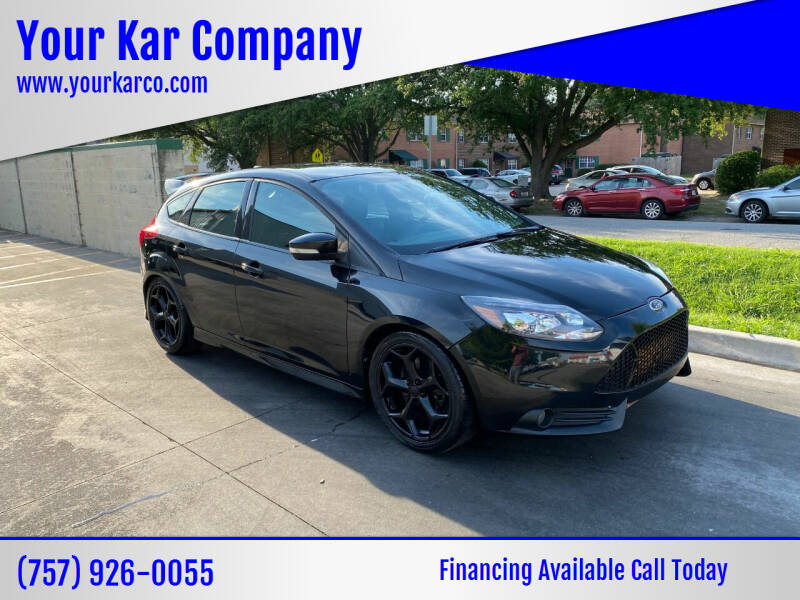 2013 Ford Focus for sale at Your Kar Company in Norfolk VA