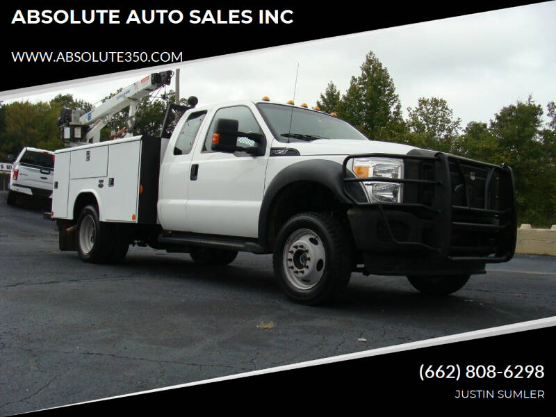 2016 Ford F-450 Super Duty for sale at ABSOLUTE AUTO SALES INC in Corinth MS