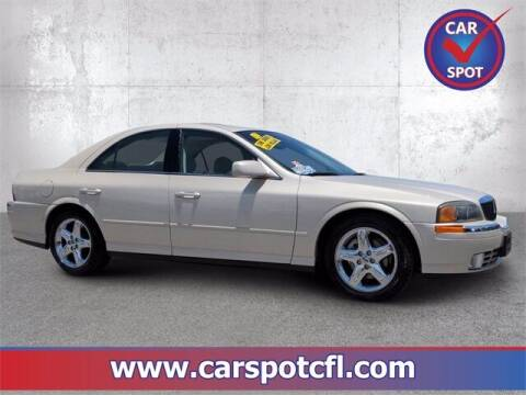 2002 Lincoln LS for sale at Car Spot Of Central Florida in Melbourne FL