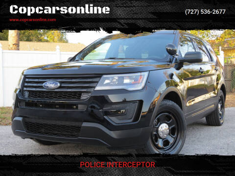 2016 Ford Explorer for sale at Copcarsonline in Largo FL
