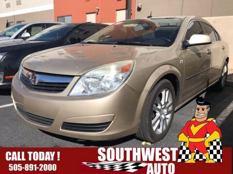 2007 Saturn Aura for sale at SOUTHWEST AUTO in Albuquerque NM