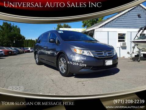 2013 Honda Odyssey for sale at Universal Auto Sales Inc in Salem OR