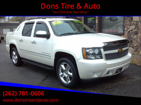 2012 Chevrolet Avalanche for sale at Dons Tire & Auto in Butler WI