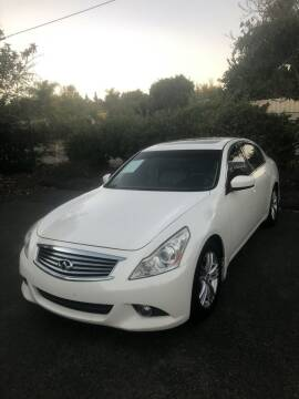 2013 Infiniti G37 Sedan for sale at North Coast Auto Group in Fallbrook CA
