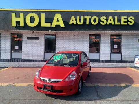 2007 Honda Fit for sale at HOLA AUTO SALES CHAMBLEE- BUY HERE PAY HERE - in Atlanta GA