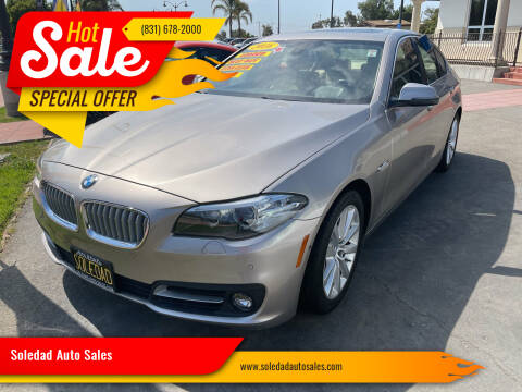 2016 BMW 5 Series for sale at Soledad Auto Sales in Soledad CA