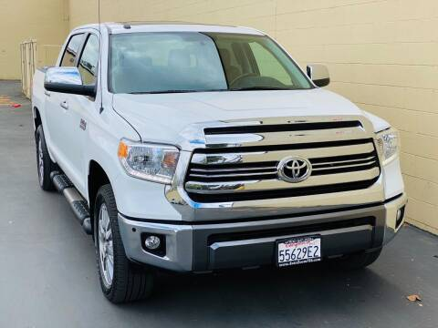 2017 Toyota Tundra for sale at Auto Zoom 916 in Rancho Cordova CA