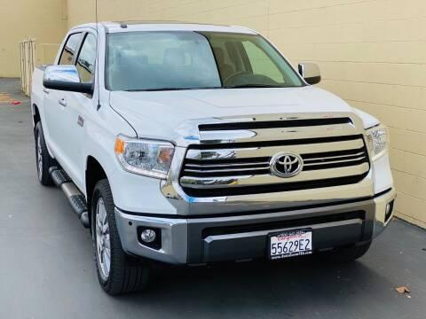 2017 Toyota Tundra for sale at Auto Zoom 916 Rancho Cordova in Rancho Cordova CA