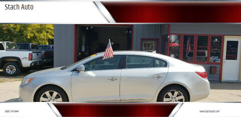 2012 Buick LaCrosse for sale at Stach Auto in Janesville WI
