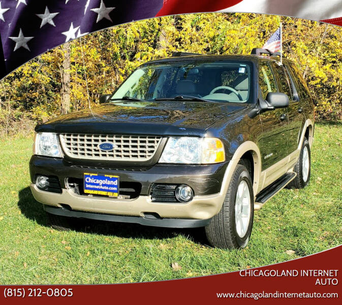 2005 Ford Explorer for sale at Chicagoland Internet Auto - 410 N Vine St New Lenox IL, 60451 in New Lenox IL