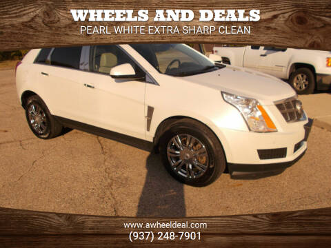 2012 Cadillac SRX for sale at Wheels and Deals in New Lebanon OH