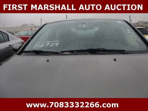 2012 Chrysler 200 for sale at First Marshall Auto Auction in Harvey IL