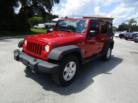 2011 Jeep Wrangler Unlimited for sale at S & T Motors in Hernando FL