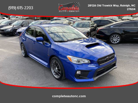 2018 Subaru WRX for sale at Complete Auto Center , Inc in Raleigh NC