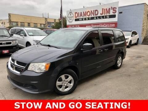 2013 Dodge Grand Caravan for sale at Diamond Jim's West Allis in West Allis WI