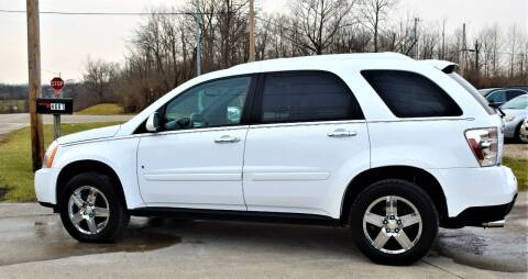 2008 Chevrolet Equinox for sale at PINNACLE ROAD AUTOMOTIVE LLC in Moraine OH