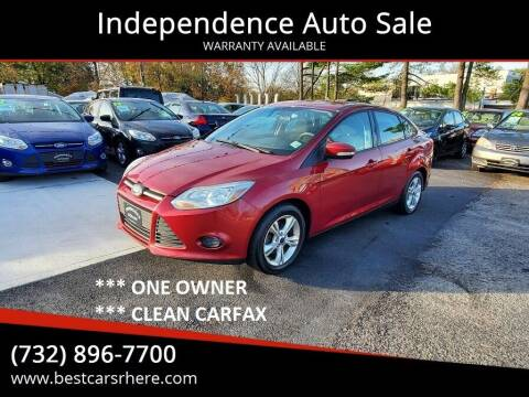 2014 Ford Focus for sale at Independence Auto Sale in Bordentown NJ