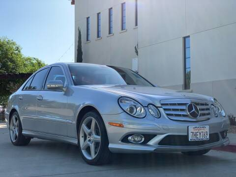 2009 Mercedes-Benz E-Class for sale at Auto King in Roseville CA