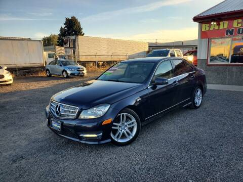 2013 Mercedes-Benz C-Class for sale at Yaktown Motors in Union Gap WA