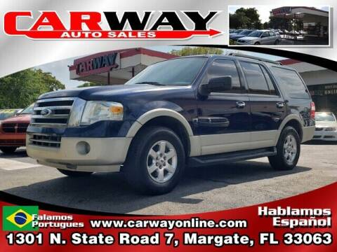 2009 Ford Expedition for sale at CARWAY Auto Sales in Margate FL