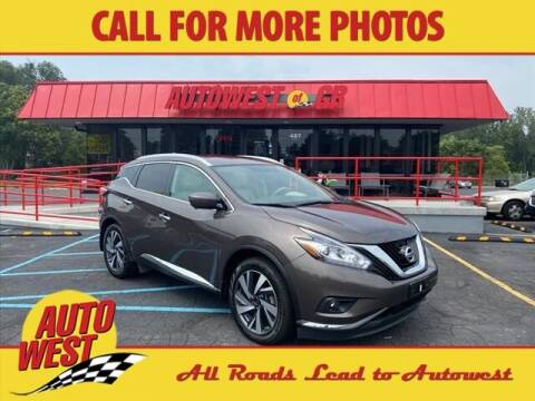 2017 Nissan Murano for sale at Autowest of GR in Grand Rapids MI