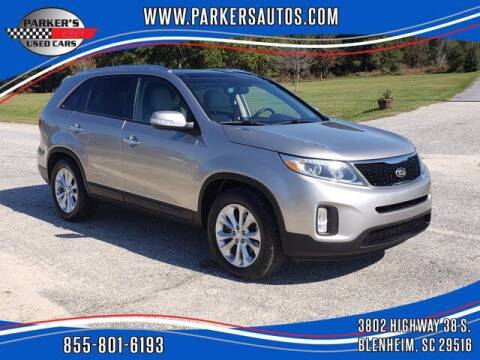 2015 Kia Sorento for sale at Parker's Used Cars in Blenheim SC