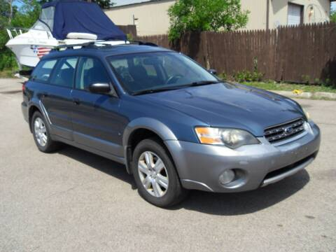 2005 Subaru Outback for sale at GLOBAL AUTOMOTIVE in Grayslake IL