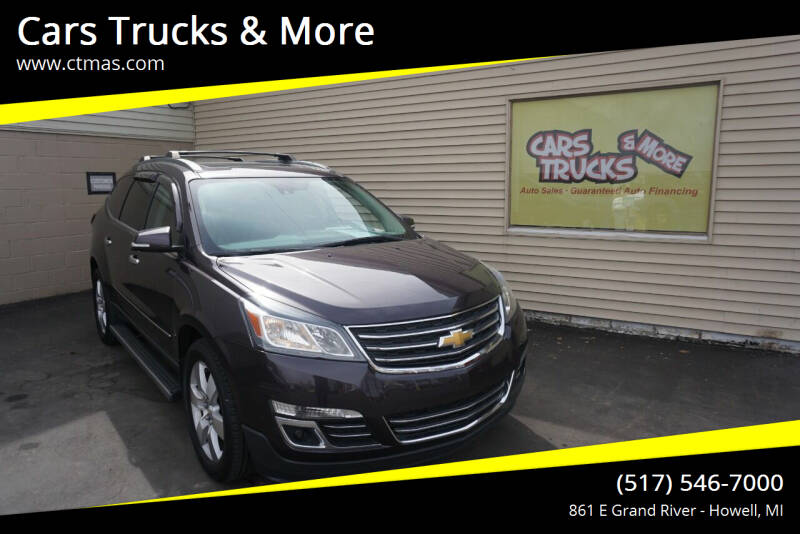 2015 Chevrolet Traverse for sale at Cars Trucks & More in Howell MI