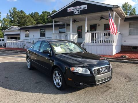 2006 Audi A4 for sale at CVC AUTO SALES in Durham NC