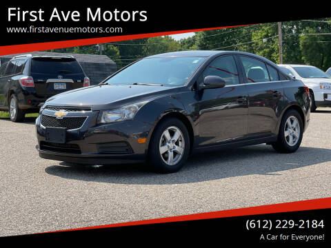 2016 Chevrolet Cruze Limited for sale at First Ave Motors in Shakopee MN