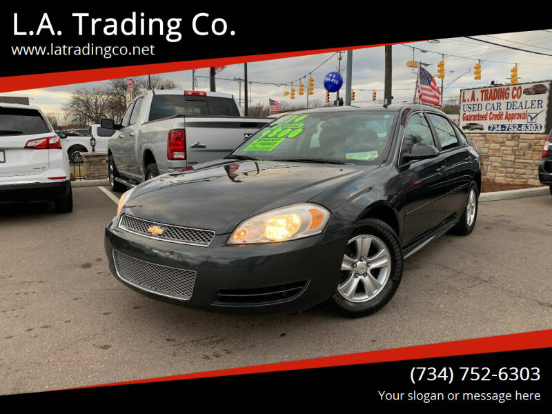 2014 Chevrolet Impala Limited for sale at L.A. Trading Co. in Woodhaven MI