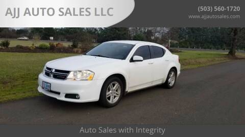 2013 Dodge Avenger for sale at McMinnville Auto Sales LLC in Mcminnville OR