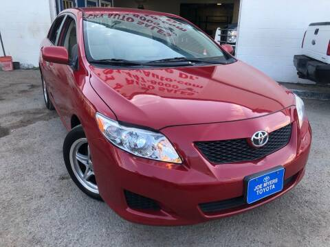 2009 Toyota Corolla for sale at Ricky Auto Sales in Houston TX