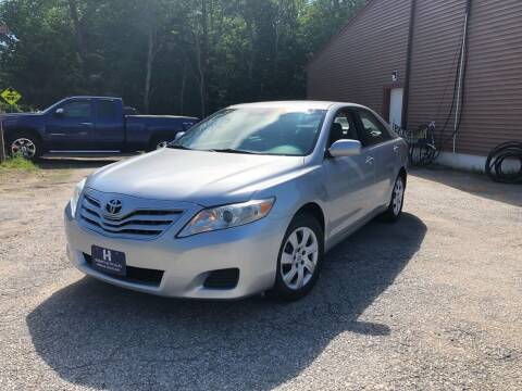 2010 Toyota Camry for sale at Hornes Auto Sales LLC in Epping NH