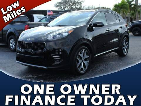 2018 Kia Sportage for sale at Palm Beach Auto Wholesale in Lake Park FL