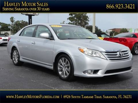 2011 Toyota Avalon for sale at Hawley Motor Sales in Sarasota FL