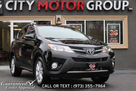 2013 Toyota RAV4 for sale at City Motor Group, Inc. in Wanaque NJ