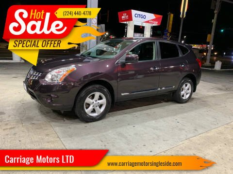 2013 Nissan Rogue for sale at Carriage Motors LTD in Ingleside IL