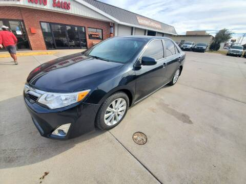 2013 Toyota Camry for sale at Eden's Auto Sales in Valley Center KS