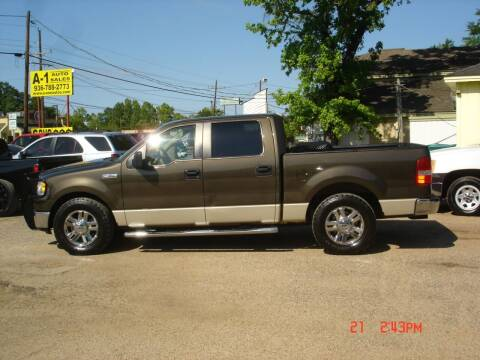 2008 Ford F-150 for sale at A-1 Auto Sales in Conroe TX