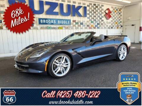 2014 Chevrolet Corvette for sale at BROOKS BIDDLE AUTOMOTIVE in Bothell WA