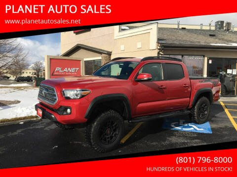 2017 Toyota Tacoma for sale at PLANET AUTO SALES in Lindon UT
