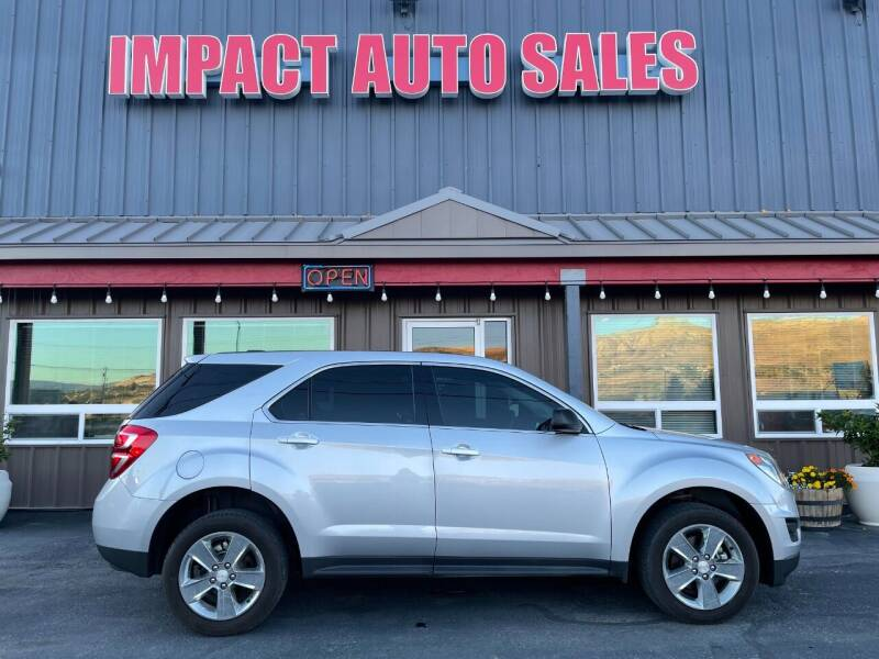 2017 Chevrolet Equinox for sale at Impact Auto Sales in Wenatchee WA