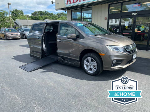 2020 Honda Odyssey for sale at Adaptive Mobility Wheelchair Vans in Seekonk MA