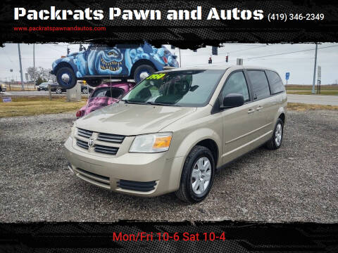 2009 Dodge Grand Caravan for sale at Packrats Pawn and Autos in Defiance OH