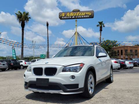 2015 BMW X1 for sale at A MOTORS SALES AND FINANCE - 6226 San Pedro Lot in San Antonio TX