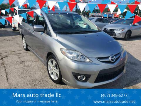 2010 Mazda MAZDA5 for sale at Mars auto trade llc in Kissimmee FL