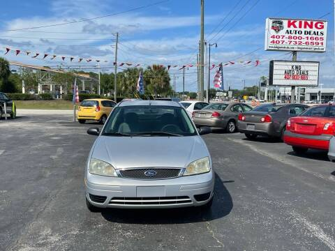 2006 Ford Focus for sale at King Auto Deals in Longwood FL